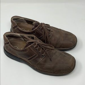 Mens Casual Brown Clarks Size 11